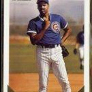 MIKE HARKEY 1993 Topps GOLD Insert #657.  CUBS