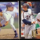 ALAN TRAMMELL 1993 Flair #209 + 1994 Flair #53.  TIGERS