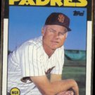 STEVE BOROS 1986 Topps Traded #15T.  PADRES