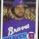 STEVE BEDROSIAN 1985 Topps #25.  BRAVES