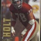 PIERCE HOLT 1993 Action Packed #85.  49ers / FALCONS
