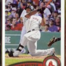 ADRIAN BELTRE 2011 Topps #302.  RED SOX