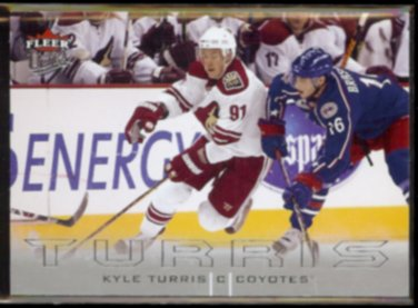 KYLE TURRIS 2009 Ultra #112.  COYOTES