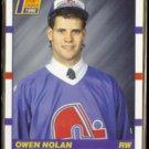 OWEN NOLAN 1990 Score Draft Pick #435.  NORDIQUES