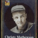 CHRISTY MATHEWSON 2001 Topps Foil Insert #BT8.  GIANTS