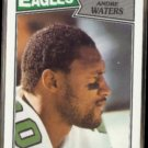 ANDRE WATERS 1987 Topps #305.  EAGLES