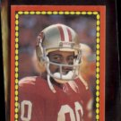 JERRY RICE 1988 Topps mini #60.  49ers - Freeman McNeil on back