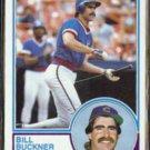 BILL BUCKNER 1983 Topps #250.  CUBS