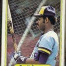 CECIL COOPER 1982 Fleer #138.  BREWERS