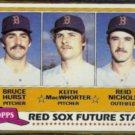 BRUCE HURST 1981 Topps Future Stars #689.  RED SOX
