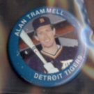 ALAN TRAMMELL 1984 Fun Foods Pin #40 of 133.  TIGERS