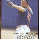BARTOLO COLON 1997 Fleer Rookie #561.  INDIANS