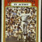 DARRELL EVANS 1972 Topps In Action #172.  BRAVES