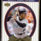 MOISES ALOU 2002 Upper Deck World Series Heroes #44.  MARLINS