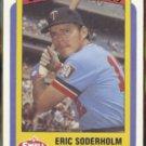 ERIC SODERHOLM 1990 CMC Swell Baseball Greats #98.  TWINS
