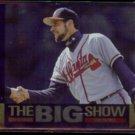JOHN SMOLTZ 1997 UD CC Dan Patrick (The Big Show) Foil Insert #4/45.  BRAVES