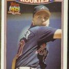 KENT MERCKER 1991 Topps Rookies Glossy #19 of 33.  BRAVES