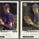 RICHIE SEXSON 1997 Upper Deck Special Effect Star Rookie w/ sister.  INDIANS