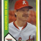 DANNY BOONE 1990 CMC (Flower City) #28.  RED WINGS