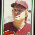 KEITH MORELAND 1981 Topps #131.  PHILLIES