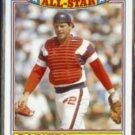 CARLTON FISK 1986 Topps All Star Glossy #9 of 22.  WHITE SOX.
