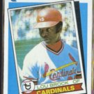 LOU BROCK 1989 Topps Turn Back The Clock #662.  CARDS