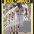 WADE BOGGS 1990 Fleer League Standouts #5.  RED SOX