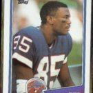 CHRIS BURKETT 1988 Topps #225.  BILLS