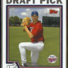 KYLE WALDROP 2005 Topps First Year #T74.  FARRAGUT / TWINS