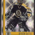 BYRON DAFOE 2001 Pacific Heads Up Prism Insert #7.  BRUINS
