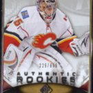 HENRIK KARLSSON 2010 UD SP Authentic #'d Insert 225/699.  FLAMES