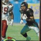 BRIAN JORDAN 1991 Stadium Club #35.  FALCONS