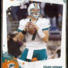 CHAD HENNE 2010 Panini Score #151.  DOLPHINS
