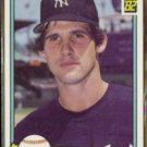 GEORGE FRAZIER 1982 Donruss #584.  YANKEES