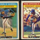 DOC GOODEN 1986 Kay Bee #15 of 33 + 1987 Kay Bee #13 of 33.  METS - Glossy