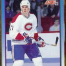 JOHN LeCLAIR 1991 Score Prospects #343.  CANADIENS