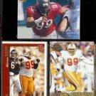 WARREN SAPP (3) Card Lot (1997 + 2000).  BUCS