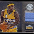 TY LAWSON 2013 Panini Totally Certified Game Worn Insert #131.  NUGGETS