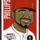 BRANDON PHILLIPS 2012 Panini Triple Play #19.  REDS