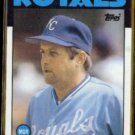 DICK HOWSER 1986 Topps #199.  ROYALS