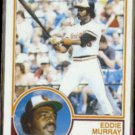 EDDIE MURRAY 1983 Topps #530.  ORIOLES
