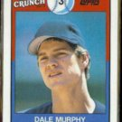 DALE MURPHY 1989 Topps Cap'n Crunch Odd #11 of 22.  BRAVES