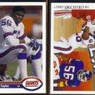 LAWRENCE TAYLOR 1991 Upper Deck #445 + #87.  GIANTS