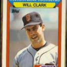WILL CLARK 1988 Topps Kmart odd #6.  GIANTS - Glossy