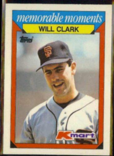 Will Clark 1988 Topps Kmart Odd 6 Giants Glossy