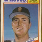 RICK REUSCHEL 1988 Topps Revco Leaders #13.  GIANTS