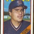 TOM NIETO 1988 Topps #317.  TWINS