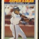 KEVIN MITCHELL 1990 Topps KMart Stars #6.  GIANTS