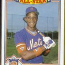 DARRYL STRAWBERRY 1985 Topps AS Glossy #8 of 22.  NY METS