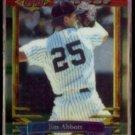 JIM ABBOTT 1994 Topps Finest #149.  YANKEES